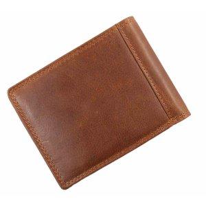 Pranke Herren Geldbörse Leder Geldbeutel Brieftasche Braun
