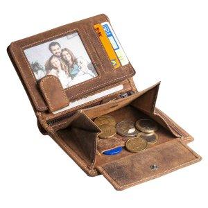 Herren Geldbörse Portemonnaie Brieftasche Geldtasche...
