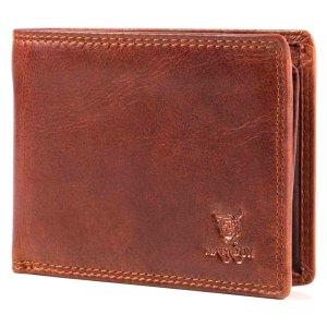 MATADOR Herren Leder Portemonnaie RFID Geldbörse...