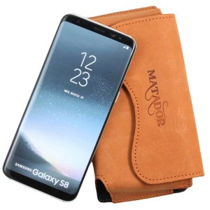 MATADOR Samsung Galaxy S8 Echt Leder Hülle Case...