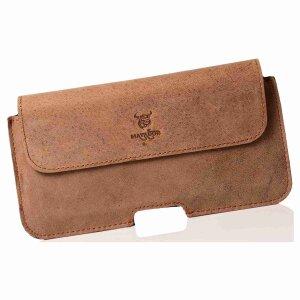 MATADOR iPhone 5 5s 5c SE Echt Leder Gürteltasche...
