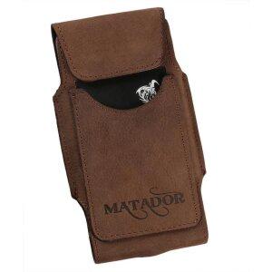 MATADOR Apple iPhone SE 2020 6 6s Leder Gürteltasche Vertikal Braun