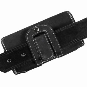 MATADOR iPhone SE 2020 6 6s Leder Gürteltasche Quer Schwarz