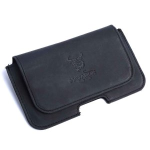 MATADOR Apple iPhone 7 Leder Quertasche Gürteltasche...