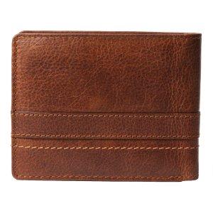 Pranke Herren Leder Geldbörse Portemonnaie Geldbeutell Vintage Braun