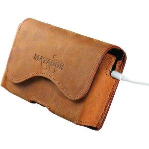 MATADOR Samsung Galaxy Xcover 4 Ledertasche Quer Braun