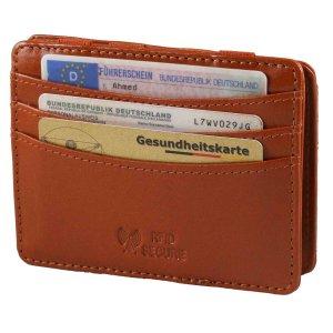 MATADOR Leder Magic-Wallet Kreditkarten-Hülle-Etui...
