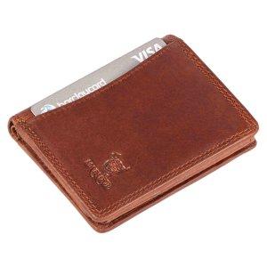 MATADOR Leder Herren RFID Geldbörse Brieftasche Vintage Braun