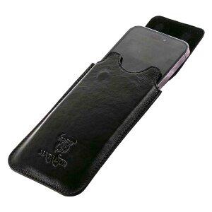 MATADOR iPhone X XS Leder Gürteltasche Lederhülle Schwarz
