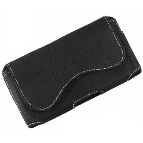 MATADOR Apple iPhone X XS Leder-Case-Cover-Hülle-Tasche Schwarz