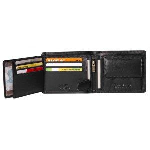 MATADOR Herren Leder Geldbörse RFID Brieftasche...