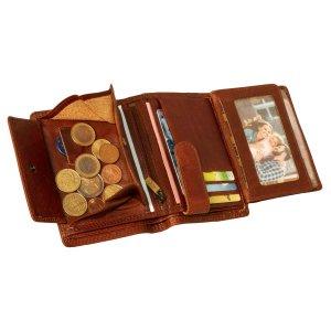 MATADOR Herren Leder Geldbörse Geldbeutel RFID TÜV Braun