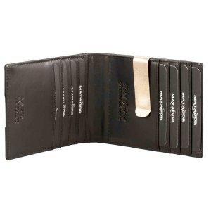 MATADOR Leder Kreditkartenetui mit Dollarclip Geldklammer...