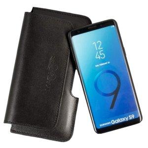 MATADOR Samsung Galaxy S9 Leder Gürteltasche Quer...
