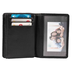 MATADOR Leder RFID Kreditkarten-Hülle-Etui...