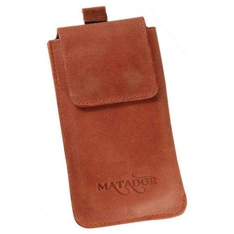 MATADOR Galaxy S9 Plus S10 Plus S20 Plus Ledertasche Braun