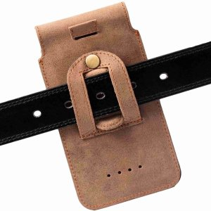 MATADOR Huawei P30 P30 Lite P20 P20 Lite Leder Gürteltasche Braun