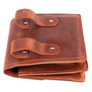 MATADOR Leder Hüfttasche MALAGA Gürteltasche Vintage Braun