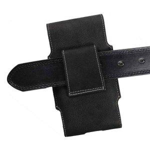 MATADOR Huawei P20 Pro Leder Case Cover Tasche Schwarz
