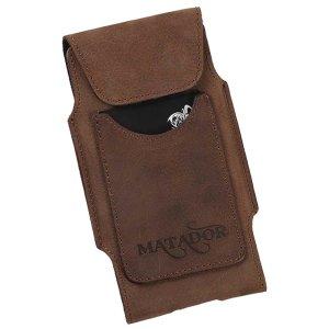 MATADOR Huawei P20 Pro Leder Tasche Hülle Schlaufe Braun