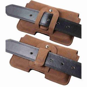 MATADOR Apple iPhone 13 / 13 Pro 12 / 12 Pro 11 XR Leder Tasche Braun