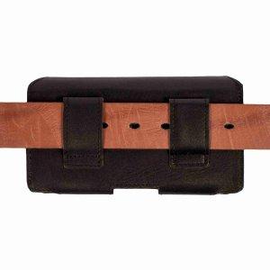 MATADOR iPhone 13 / 13 Pro 12 / 12 Pro 11 XR Leder Case Schwarz