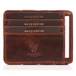 MATADOR RFID Magic Wallet Echt Leder...