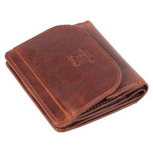 MATADOR Herren Geldbörse klein Leder RFID Brieftasche Braun