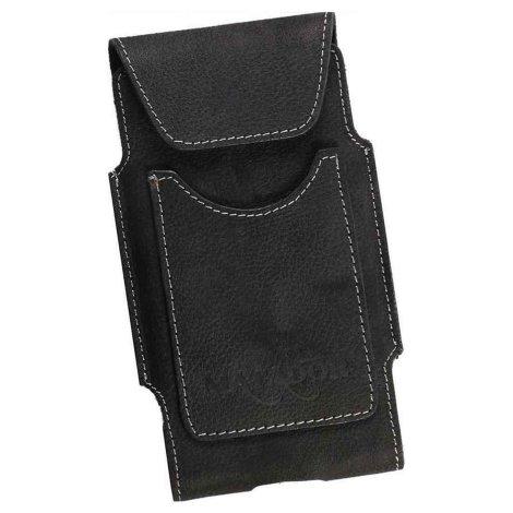 MATADOR Samsung S10 S20 S21 Leder Gürteltasche Vertikal Schwarz