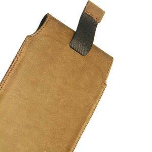 MATADOR Apple iPhone 5 5S 5C SE Leder Gürteltasche Antik Braun