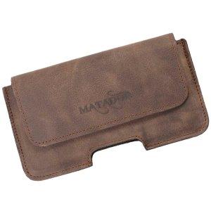 MATADOR iPhone 5 5s 5c SE Leder Gürteltasche Quer Braun