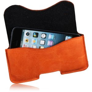 MATADOR Leder Gürteltasche kompatibel mit iPhone 6 Plus 6s Plus