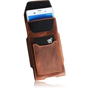 MATADOR iPhone SE 2020 6 6s Leder Gürteltasche Clip Schlaufe Braun