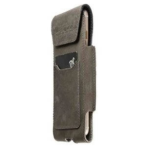 MATADOR Apple iPhone SE 2020 6 6s Ledertasche Vintage Grau