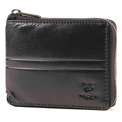 MATADOR® Herren Leder Geldbörse Geldtasche TüV RFID Schutz Schwarz
