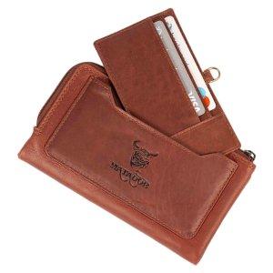MATADOR Portemonnaie Geldbörse Gross Handyfach RFID...