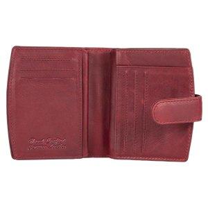 MATADOR Damen Leder Geldbörse Portemonnaie RFID TÜV Pink