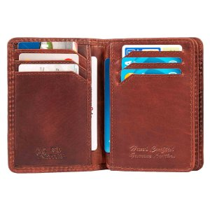 MATADOR® Leder Kreditkartenetui RFID TüV...